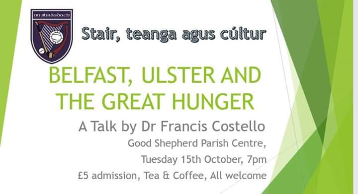 The Famine in Belfast and Ulster