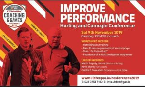 Ulster GAA coaching and games development conference