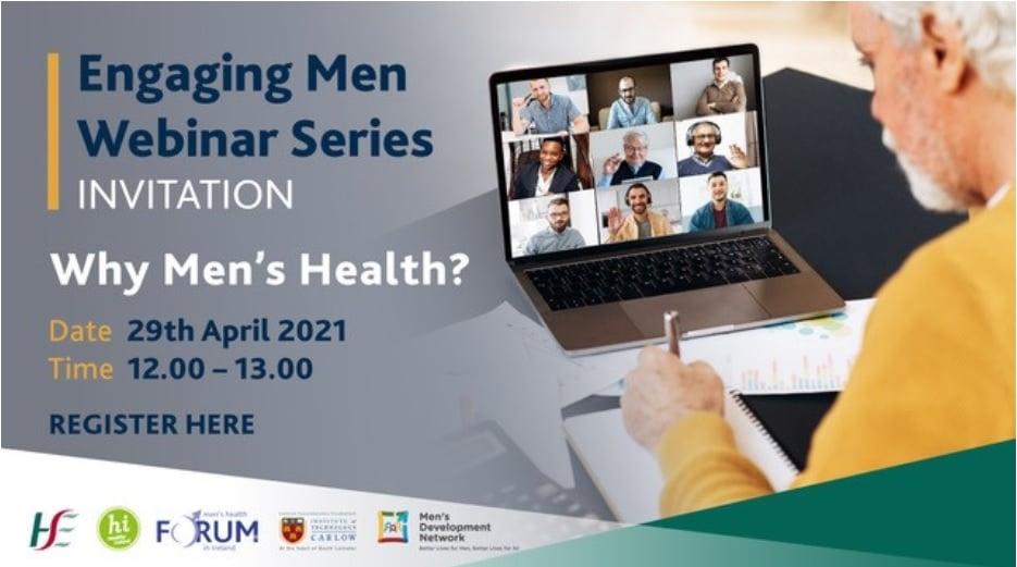 Engaging Men Webinar Series: Why Men's Health?