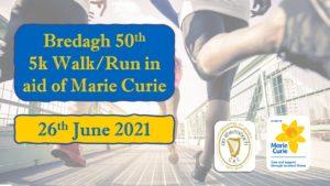 Bredagh 50th Walk/Run Registration